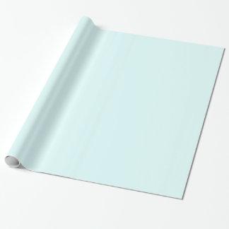 Pastel Cyan 2 Gift Wrap Paper