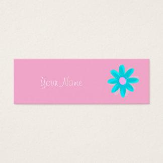 pastel daisy mini business card