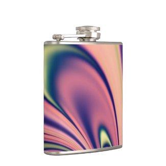 Pastel Days Fractal Design Flask Flasks