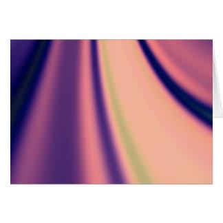 Pastel Days Fractal Greeting Card