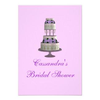 """Pastel de bodas de la """"ducha nupcial"""" - [lavanda] comunicado personal"""