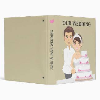 "Pastel de bodas del corte carpeta 1"""