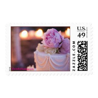 Pastel de bodas sellos