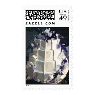 Pastel de bodas sello
