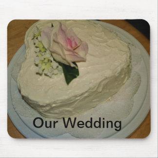 Pastel de bodas tapete de ratones
