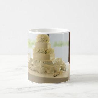Pastel de bodas tazas