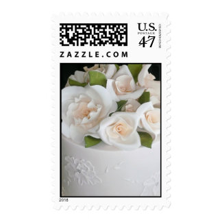 pastel de bodas timbres postales