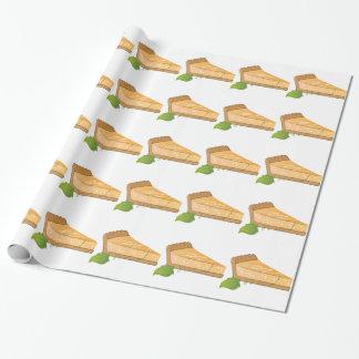 Pastel de calabaza papel de regalo