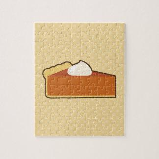 Pastel de calabaza puzzles con fotos