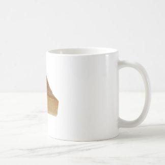 Pastel de calabaza taza de café