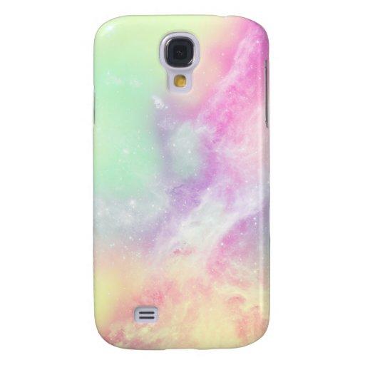 Pastel de CandyGalaxy Funda Para Galaxy S4