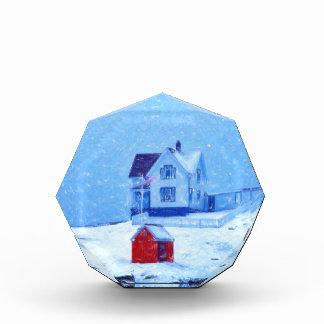 Pastel de la nieve ligera de Neddick del cabo