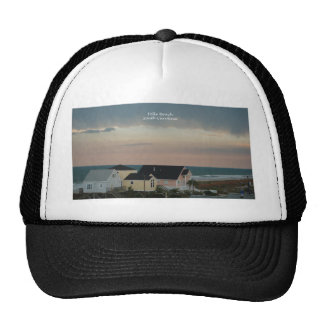 Pastel de la playa de la locura gorras