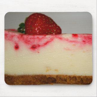 Pastel de queso Mousepad de la fresa Tapete De Ratón