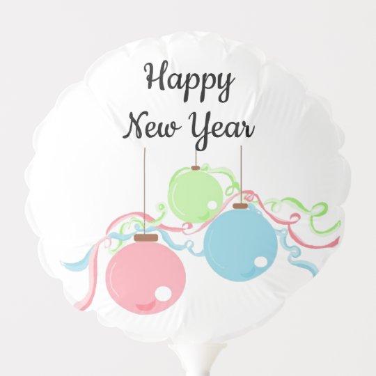 Happy New Year Balloons 67