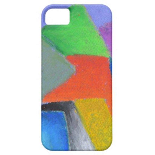 Pastel del arco iris iPhone 5 fundas
