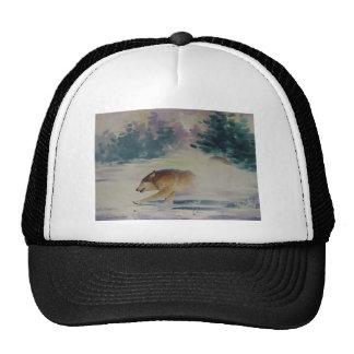 Pastel del lobo gorras