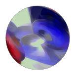 Pastel del rojo, blanco y azul