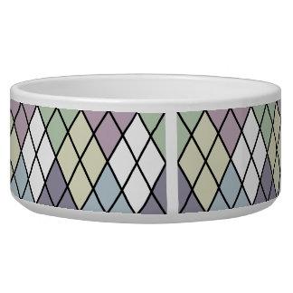 Pastel Diamonds Bowl