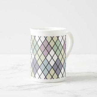 Pastel Diamonds Tea Cup