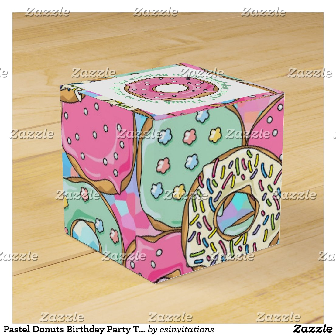 Pastel Donuts Birthday Party Theme