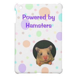 Pastel Dots and Hamster  Cover For The iPad Mini