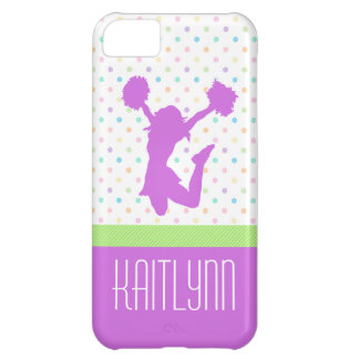 Pastel Dots Cheer or Pom iPhone 5c Case