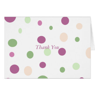 Pastel Dots - Customized Card