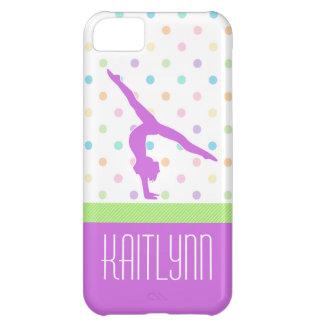 Pastel Dots Gymnastics iPhone 5c Case