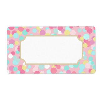 Pastel Dots Labels