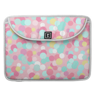 Pastel Dots  MacBook Sleeve