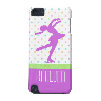 Pastel Dots Skating iPod Touch 5 Case iPod Touch 5G Case