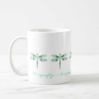 Pastel Dragonfly Coffee Mug
