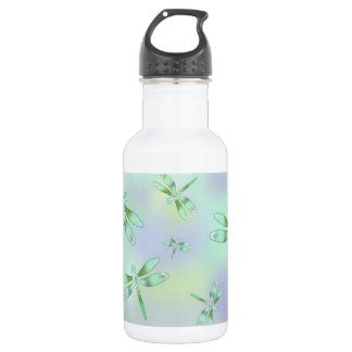Pastel Dragonfly Water Bottle