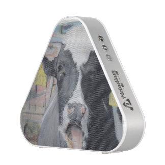 Pastel drawn COW Pieladium bluetooth Speaker