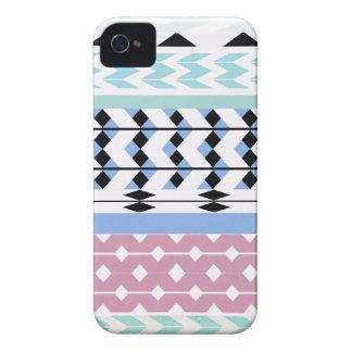 Pastel Dreamy Aztec 2 iPhone 4 Case