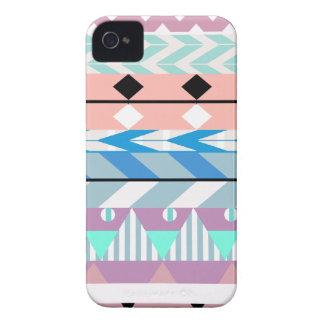 Pastel Dreamy Aztec 3 iPhone 4 Cover