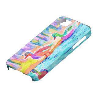 Pastel Ducks iPhone SE/5/5s Case
