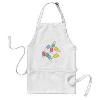 Pastel Easter Basket Candy Corn Foodie Apron