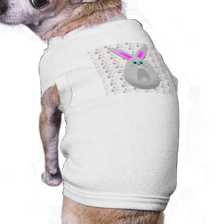 Pastel Easter Bunny Eggs Dog Shirt