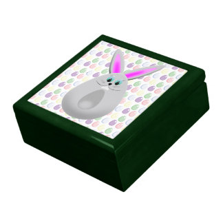 Pastel Easter Bunny Eggs Gift Box