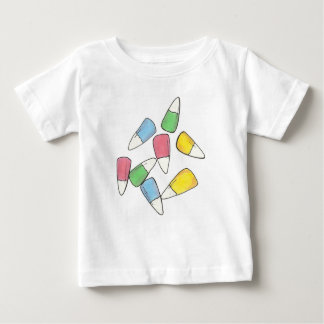 Pastel Easter Candy Corn Baby Shirt