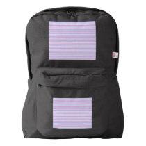 Pastel Easter Stripes Backpack
