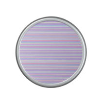 Pastel Easter Stripes Bluetooth Speaker