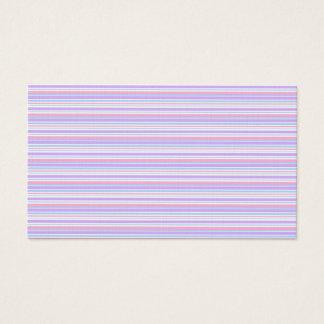 Pastel Easter Stripes Business Card