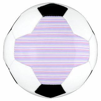 Pastel Easter Stripes Soccer Ball