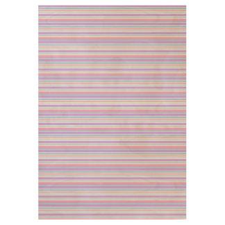 Pastel Easter Stripes Wood Poster