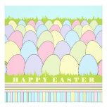 Pastel Eggs Easter Invitation