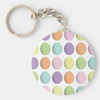 Pastel Eggs Keychain #2