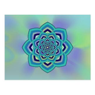 Pastel Enlightenment Lotus Postcard